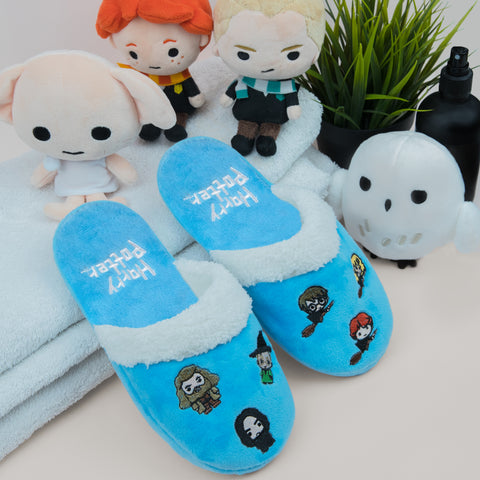 Kids Hogwarts Kawaii Slippers