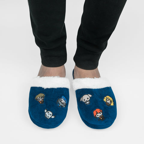 Starry Night Kawaii Slippers