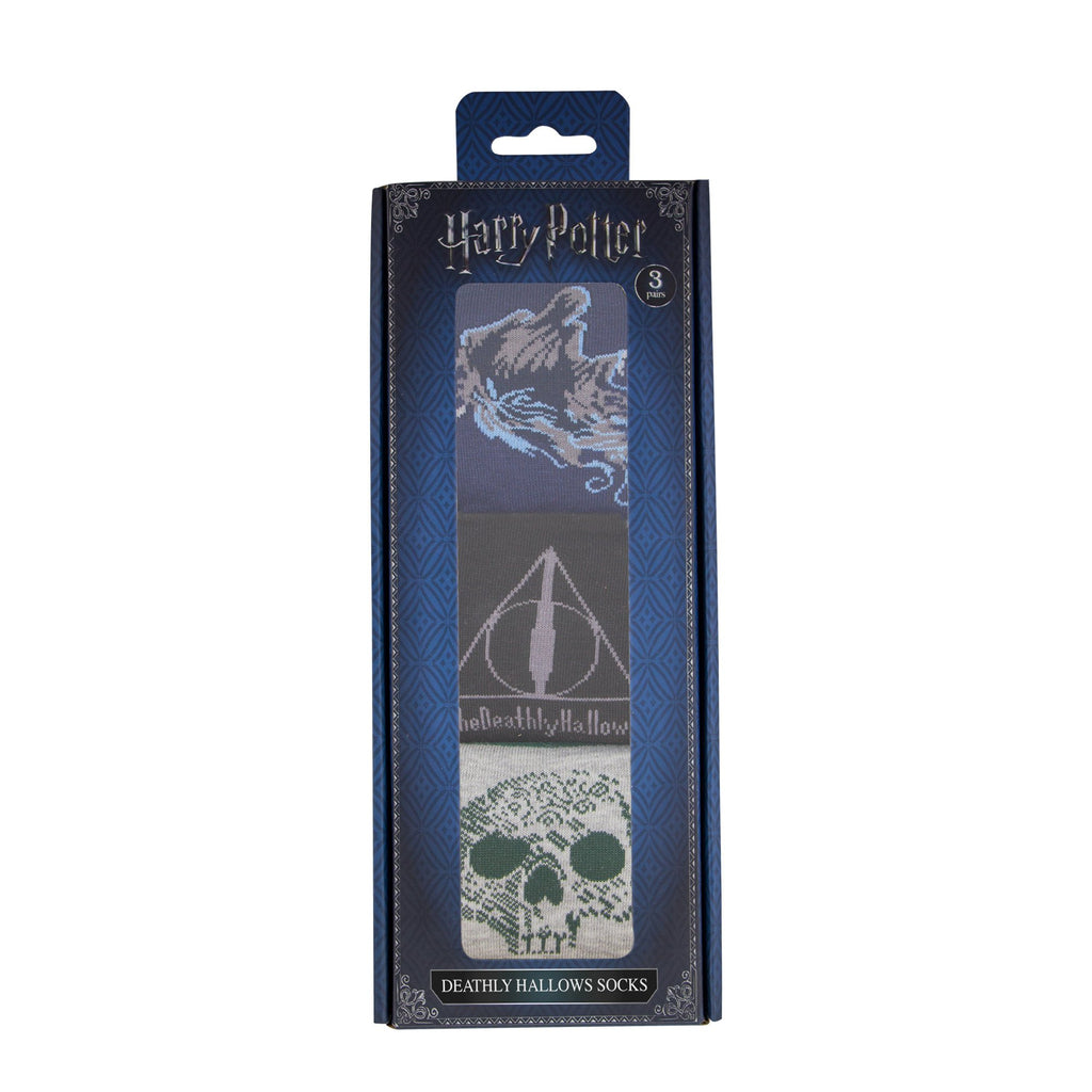 Harry Potter Socks Deathly Hallows packaging