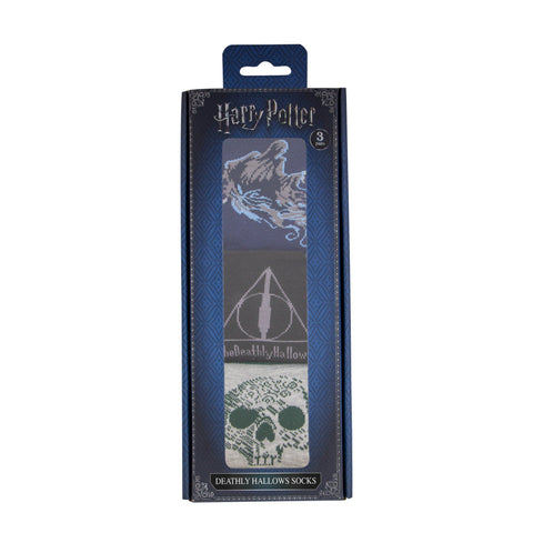 Deathly Hallows Socks (Set of 3) - Deluxe Edition