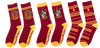 Set of 3 Socks - Gryffindor