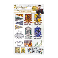 5 sets of Harry Potter Temporary Tattoos (35 tattoos/ set)