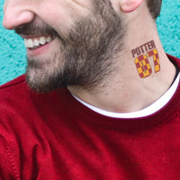 Harry Potter tattoo Quidditch Gryffindor