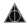 dealthy hallows crest/patch (harry potter)