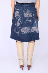 Vintage LEE tie dye denim rok_3