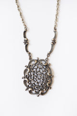 Vintage seventies metalen ketting_1
