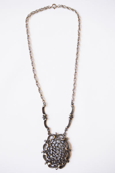 Vintage seventies metalen ketting_2