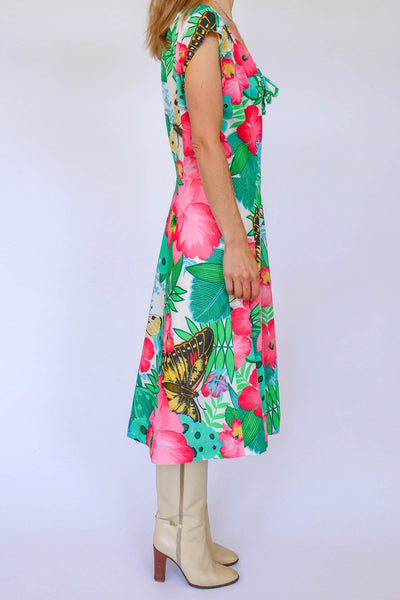Vintage sixties floral dress_2