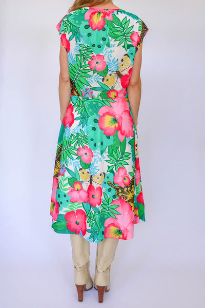 Vintage sixties floral dress_3