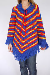 Vintage sixties poncho_001a