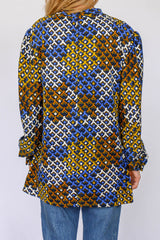 Vintage sixties top met print_3