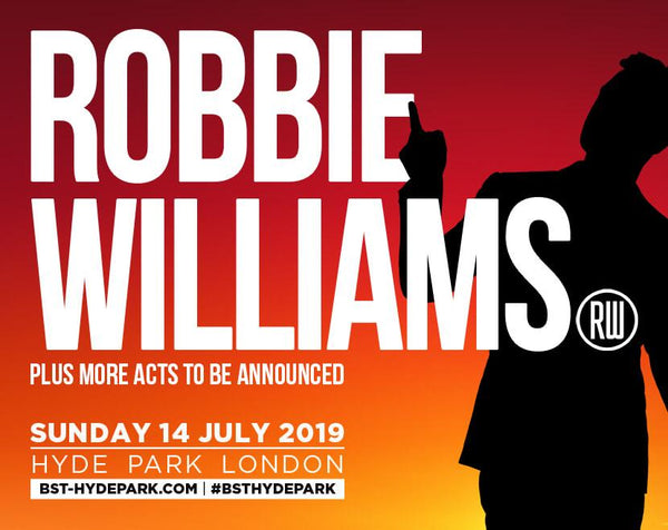 Win tickets to BST Hyde Park & Meet Robbie Backstage