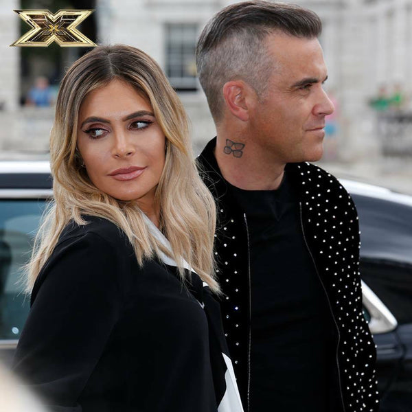 Robbie & Ayda Join The X Factor Judging Panel
