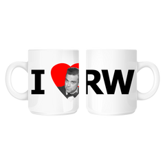 I Heart RW Heat-Reactive Mug