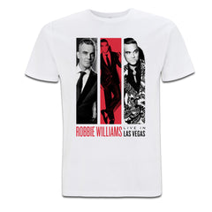 Robbie Live in Las Vegas T-Shirt (White)