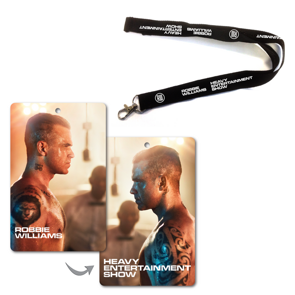 The Heavy Entertainment Show Lanyard Set