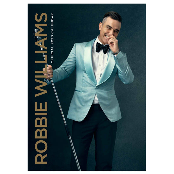 Robbie Williams 2020 Calendar