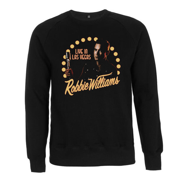 Robbie Live in Las Vegas Sweater (Black)