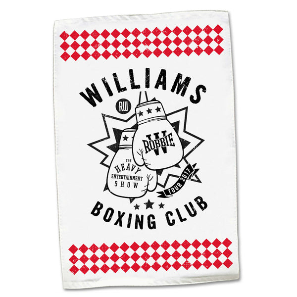 Boxing Club Tea Towel