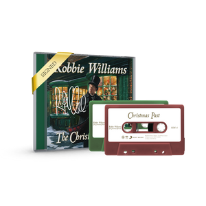 Signed by Robbie - Standard CD & Dual Cassette Bundle
