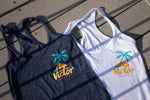 Womens Palmtree Tank Top - VICTOR Hockey