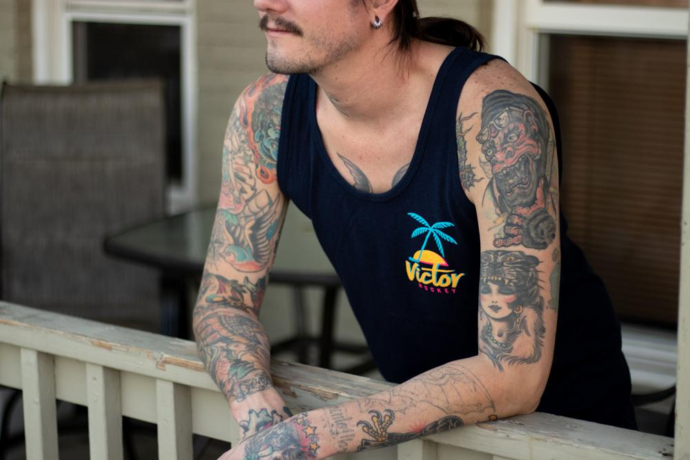 Palmtree Tank Top - VICTOR Hockey