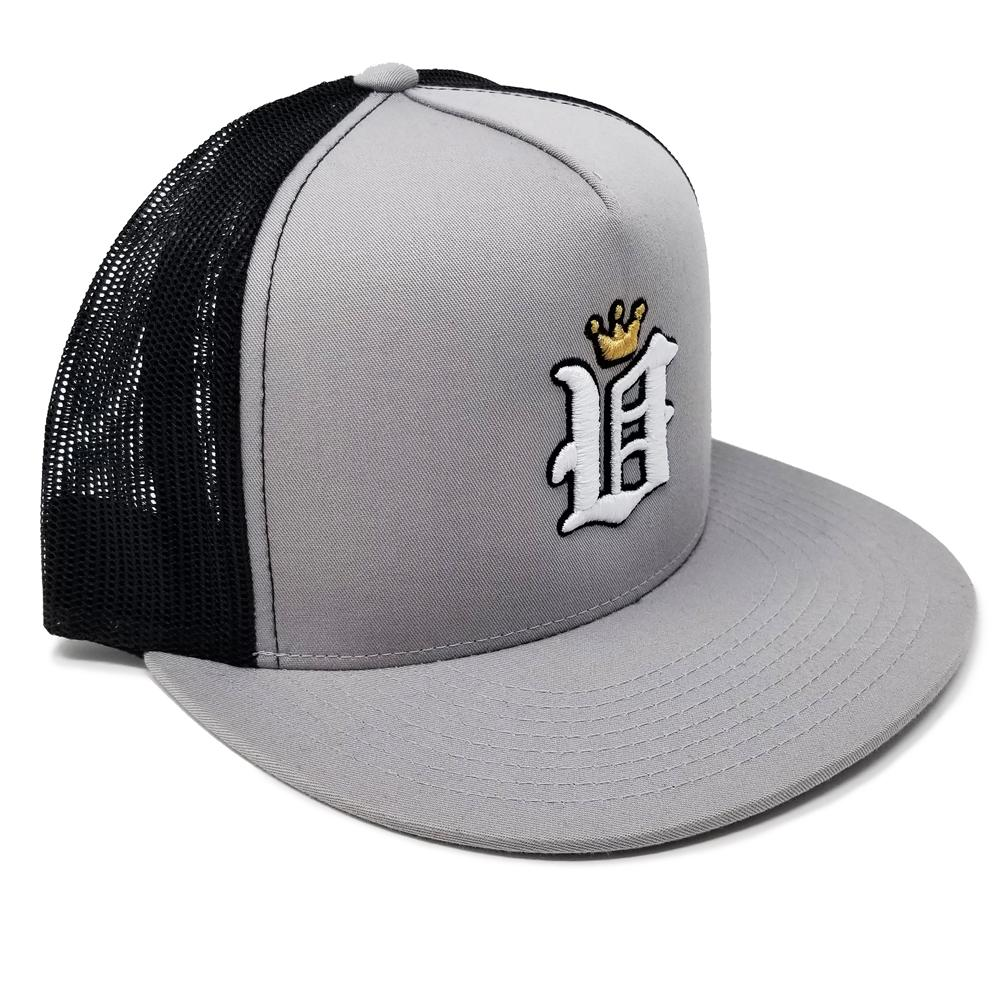 V Crown Snapback Hat
