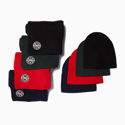 1st TRACKS HAT & SCARF SET
