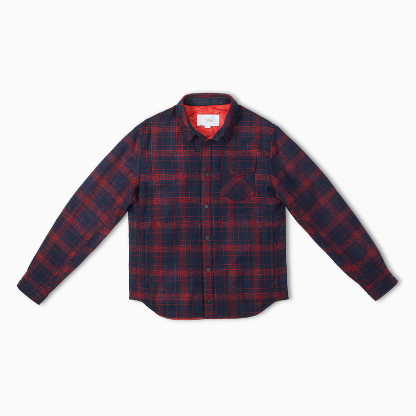 Lenado Plaid Quilted Shirt