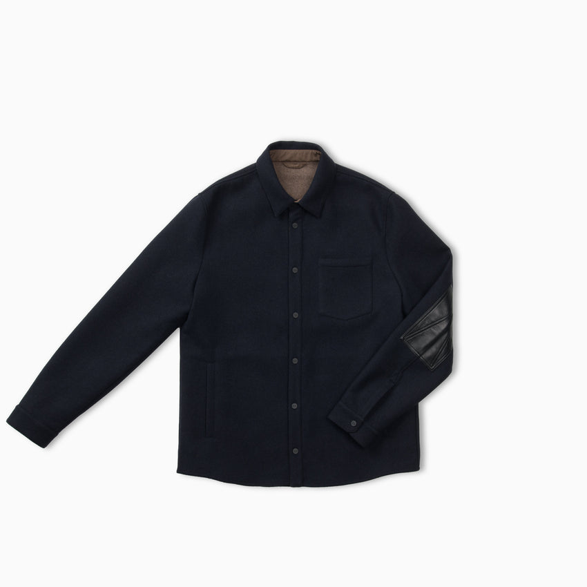 Loge Peak Cashmere Shirt Jacket