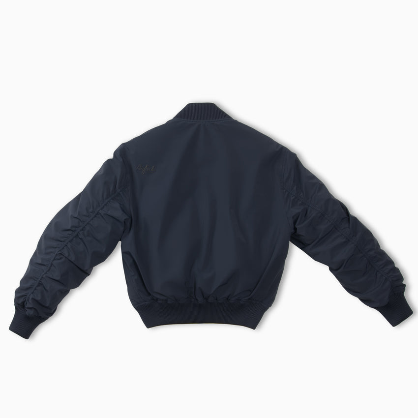 Silver Queen Reversible Bomber