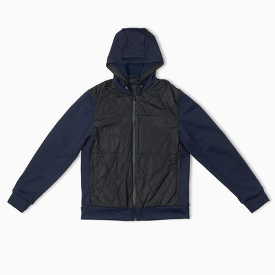 Larkspur Quilted Hoody