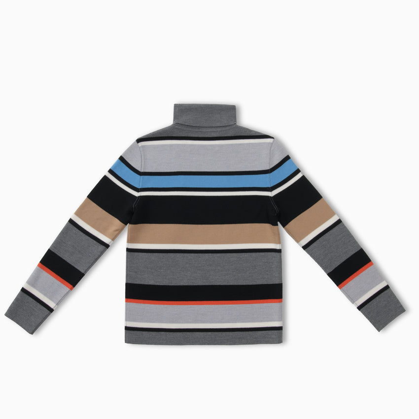 Matterhorn Striped Turtleneck