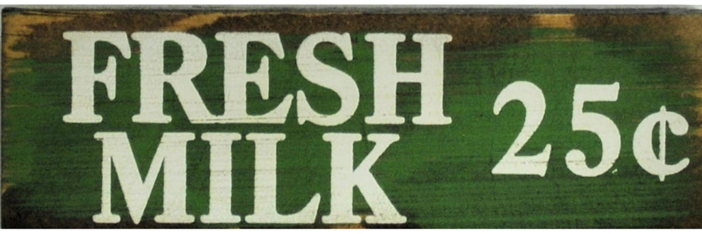 2 x 6 JD Green/White  Fresh Milk