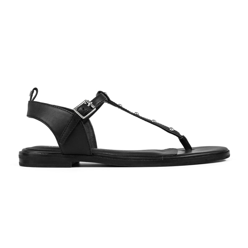 yosi samra leather sandal black