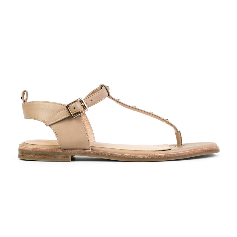yosi samra leather sandal camel