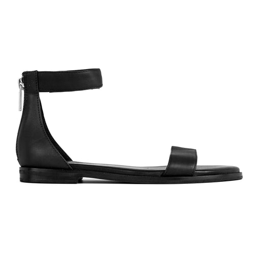 Yosi Samra Black Leather Sandal