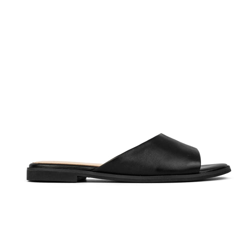 Exclusive Constantine Black Leather Slide