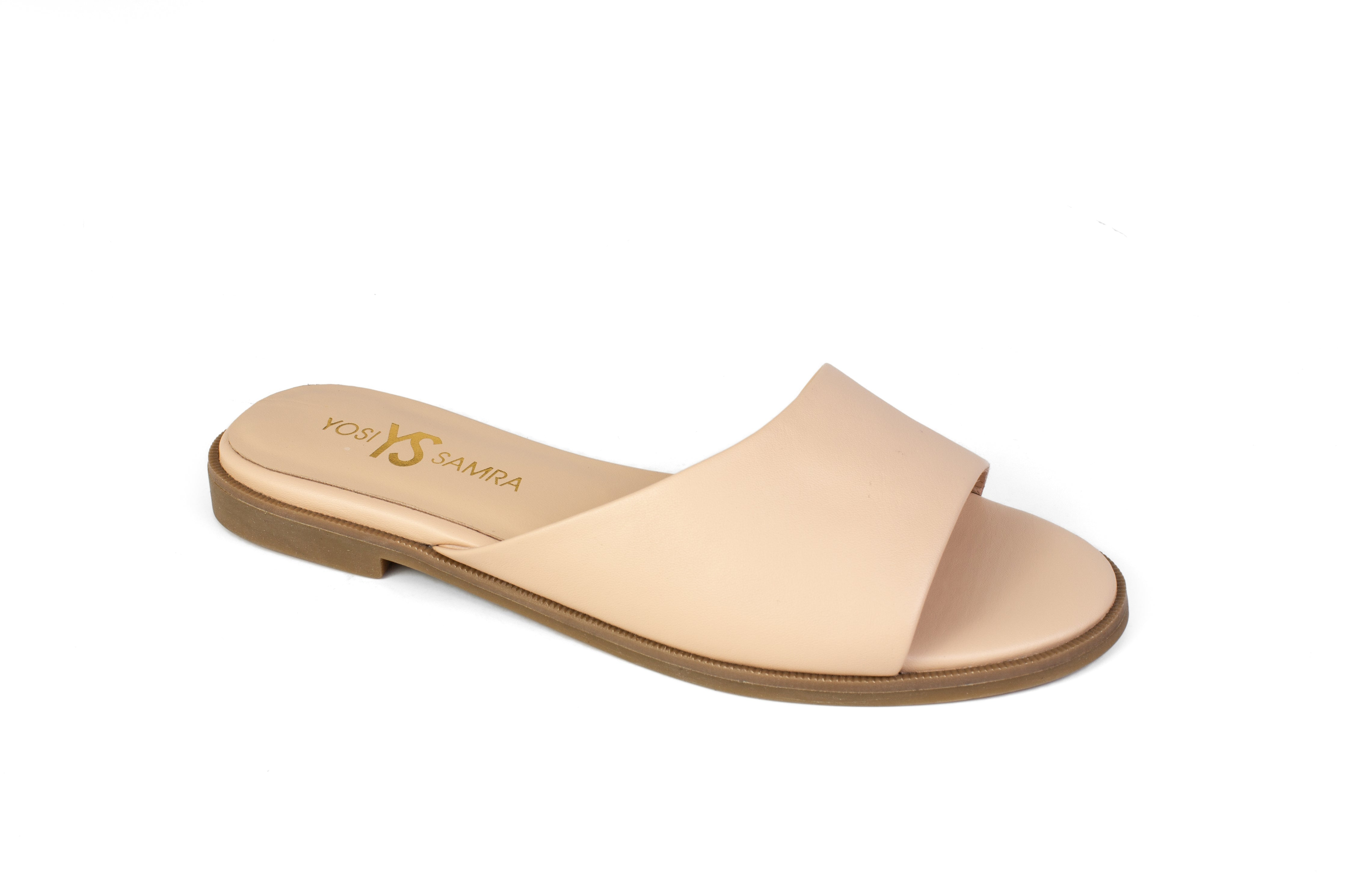 Exclusive Constantine Nude Leather Slide