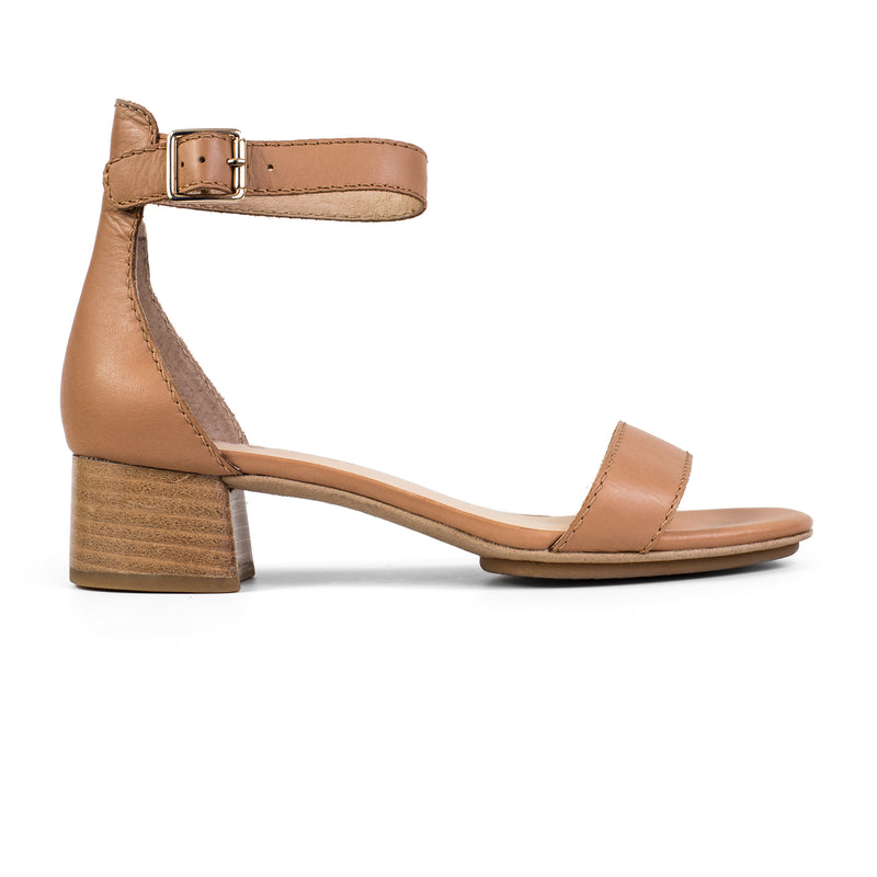 yosi samra tan leather heel