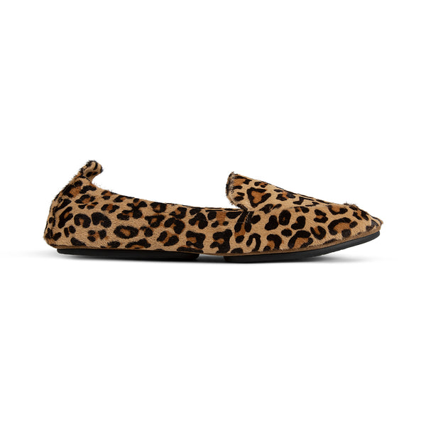 Skyler Leopard Calf Hair Loafer