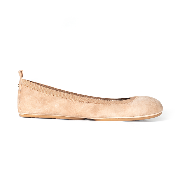 Samara Light Tan Suede