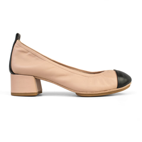 Samara 2.0 Bronze Muted Metallic Leather Ballet Flat