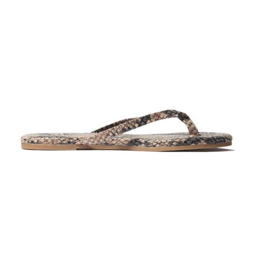 Rivington Serpent Leather Flip Flop