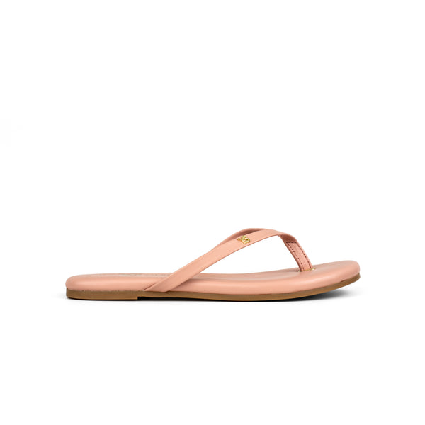 Rivington Blush Nappa Leather Flip Flop