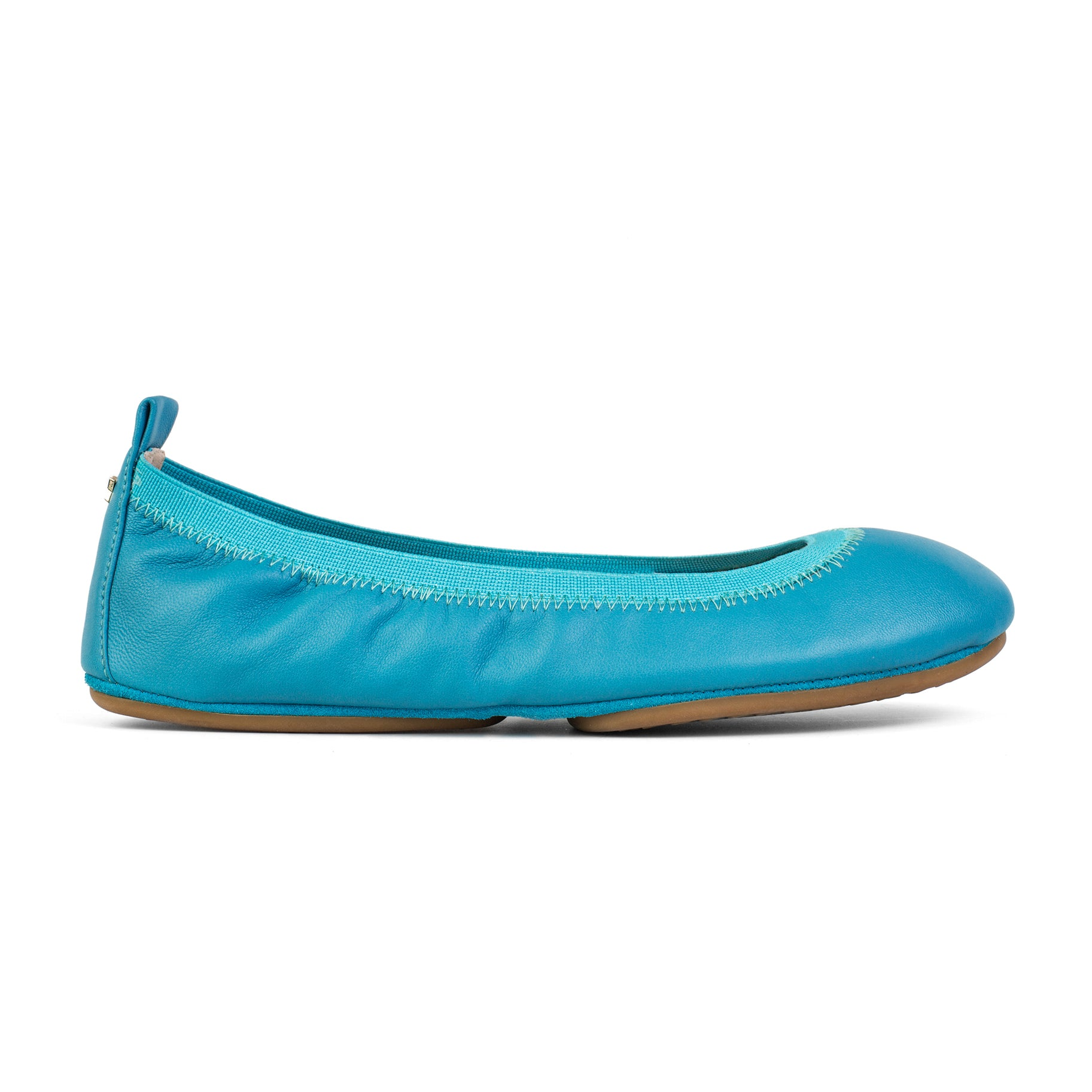 Samara Lagoon Leather Ballet Flat