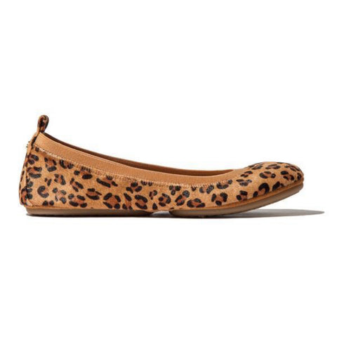 Samara 2.0 Fig Leather Ballet Flat