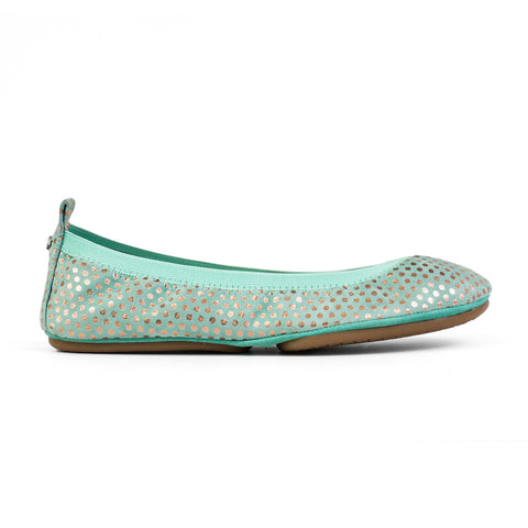 Samara Sunflower Leather Ballet Flat