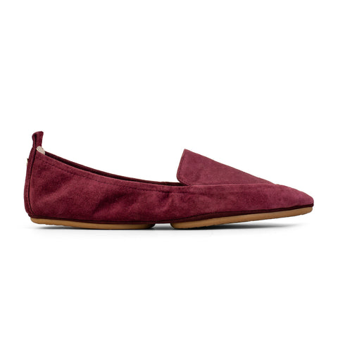 Skyler Purple Magic Suede Loafer