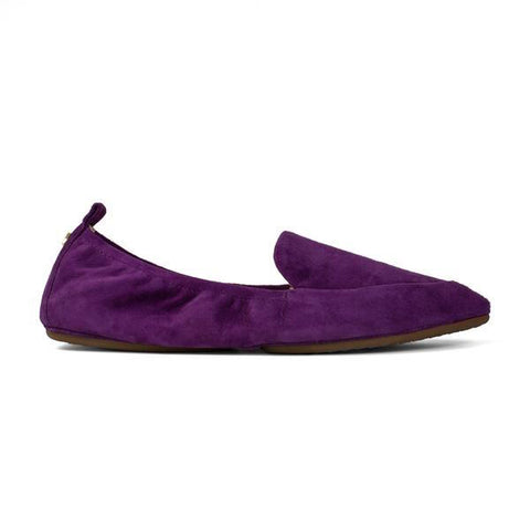 Vivian Platino Slivered Loafer